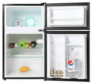 mini fridge freezer