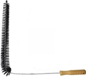 dryer vent cleaning brush is long with a narrow brush head