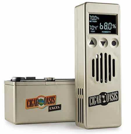 Electronic humidifier for Cigars
