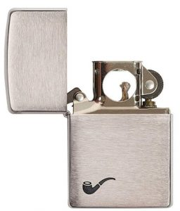 Zippo lighter for pipes