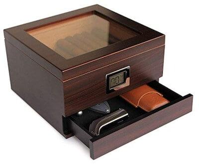 cedar cigar humidor casing