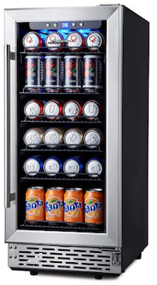 Phiestina adjustable shelved fridge