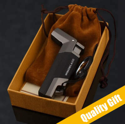 WindBlaze Cigar lighter in tidy package