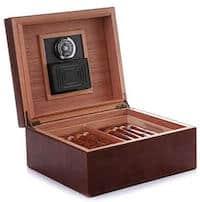 MEGACRA cedar tray with the hygrometer
