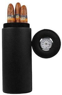 portable hydrometer cigar case