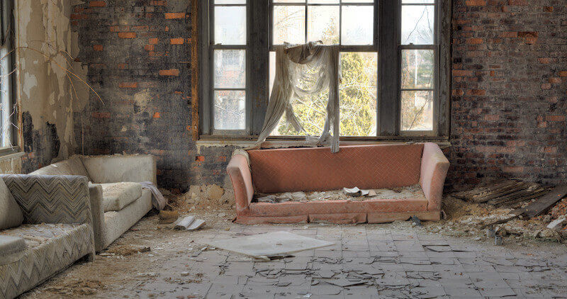 A dirty home costs more to clean