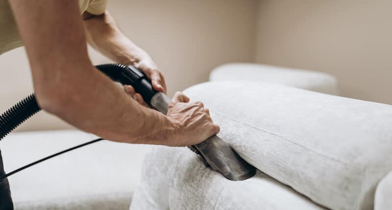 deep cleaning and removing stains on furniture are optional extras for cleaning services