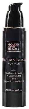 face tanning serum
