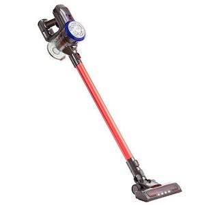 Cordless battery powered stick vacuum